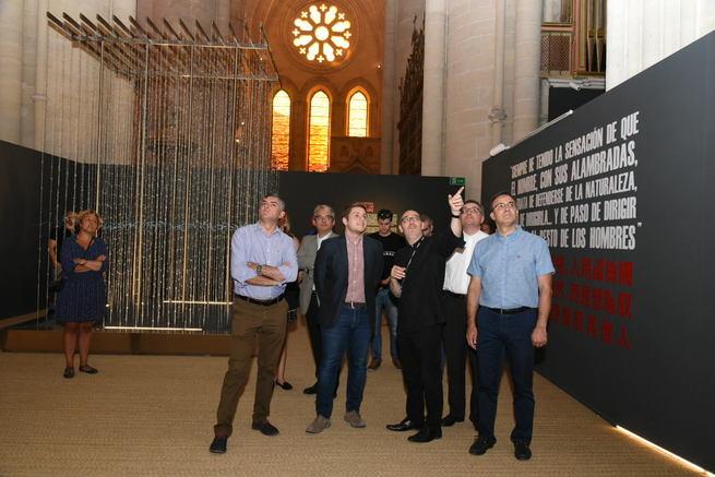 El Gobierno regional celebra que la Catedral de Cuenca haya multiplicado por treinta su número de visitantes gracias a 'La Poética de la Libertad'