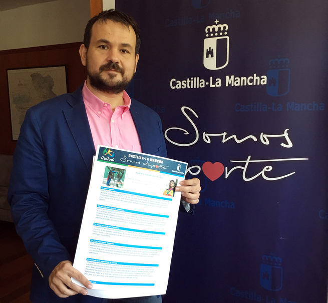El Gobierno regional desea mucho éxito a los deportistas castellano-manchegos que participan desde hoy en los Juegos Olímpicos Río 2016
