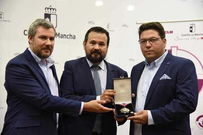 El Gobierno regional felicita a Alberto Fernández, Medalla de Oro de la Federación Castellano-Manchega de Tiro Olímpico, y le anima a seguir cosechando éxitos