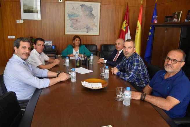 El Gobierno regional recoge la petición del Pacto Social del Ferrocarril en Toledo para solicitar al Ejecutivo nacional el desdoblamiento y la electrificación de la vía