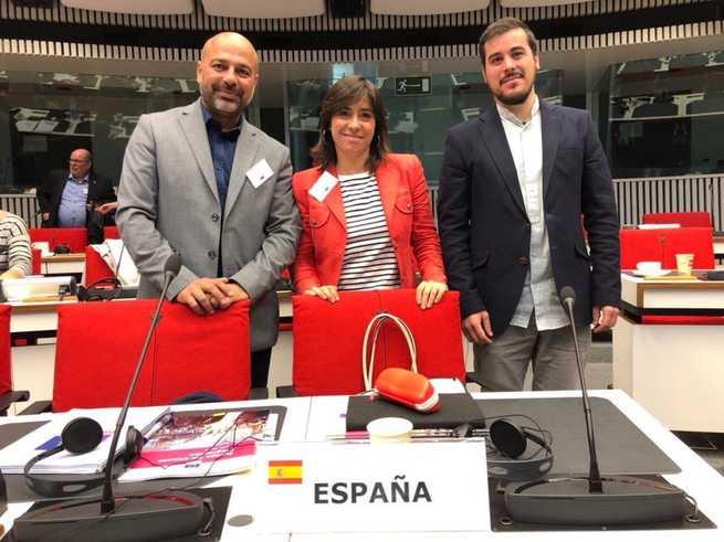 José García Molina expone en Bruselas la Ley de Participación de Castilla-La Mancha