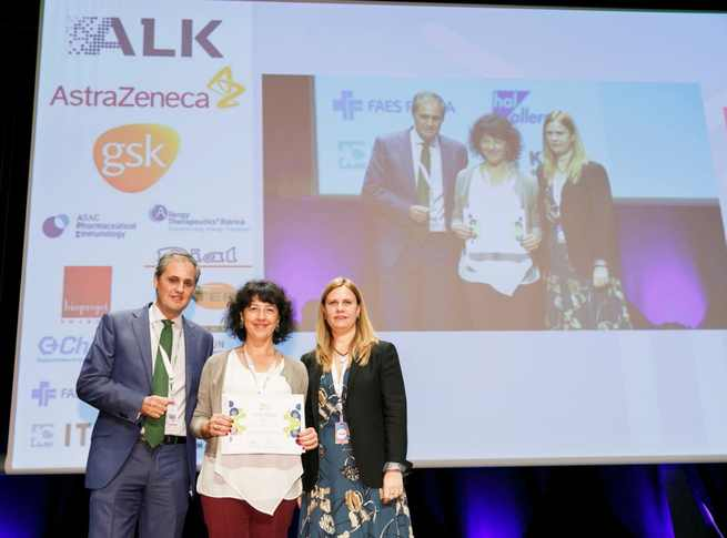 El servicio de Alergología del Hospital Universitario de Guadalajara se hace con el premio al mejor póster en el congreso nacional 'SEAIC' de esta especialidad