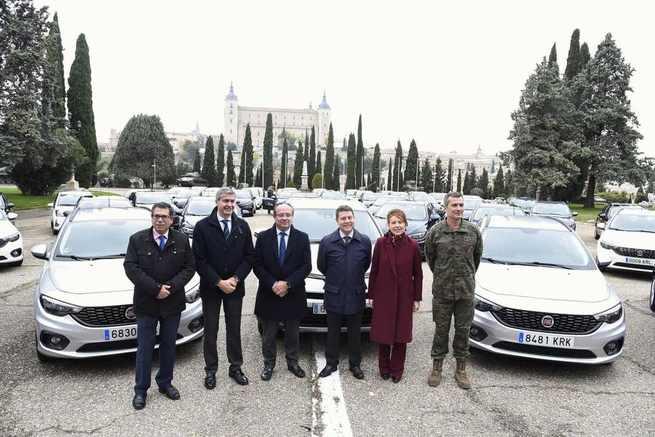 El Gobierno regional invierte 2,2 millones en la adquisición de 141 vehículos eficientes para renovar el 20 por ciento de la flota de turismos del Parque Móvil