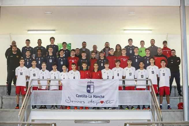 El Gobierno de Castilla-La Mancha colabora en la promoción de 'Torrijos, Villa Europea del Deporte 2019' con las equipaciones de las selecciones de Deporte Escolar