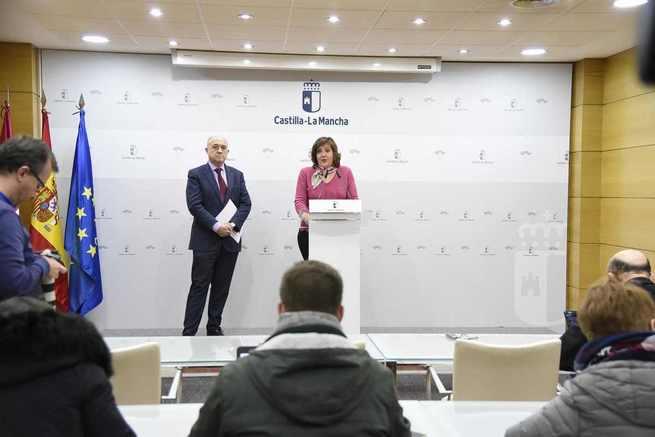 Las tres mayores bajadas interanuales del paro de la historia de la región se han registrado en la legislatura de Emiliano García-Page