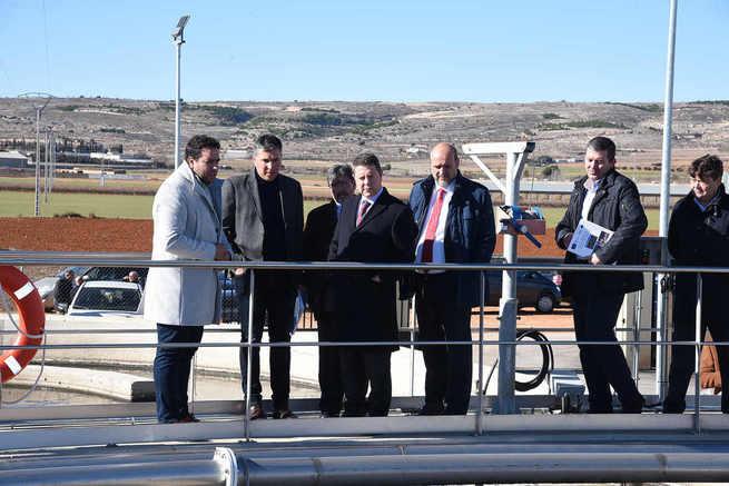 El Gobierno de Castilla-La Mancha inaugura en Sisante, Pozoamargo y Casas de Benítez el grupo de depuración de mayor envergadura de la legislatura con una inversión conjunta de 11,4 millones de euros