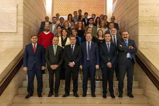 """García-Page: """"Compartimos un proyecto de ciudad para crear un Albacete renacido a lo largo de los próximos ocho años"""""""