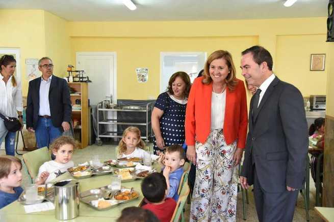 El Gobierno de Castilla-La Mancha destinará, durante este curso escolar, 85.492 ayudas de comedor y para libros de texto
