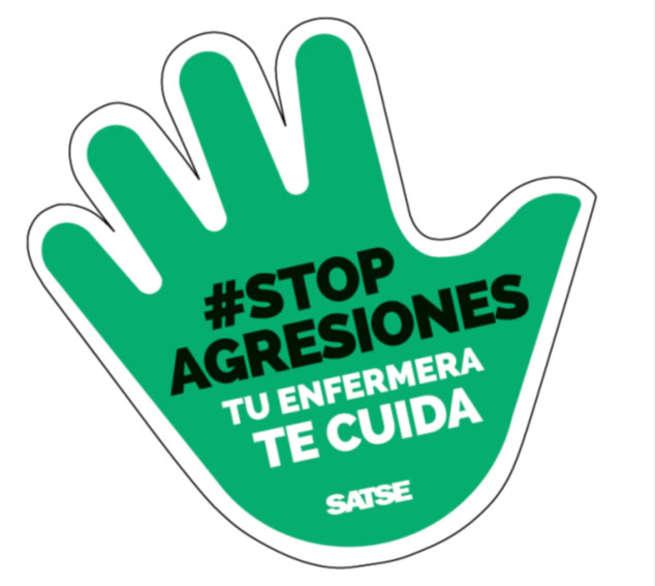 """""""#Stop agresiones. Nada justifica una agresión"""", nueva campaña de SATSE"""