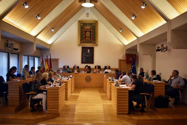 El Pleno de Ciudad Real aprueba por unanimidad una modificación  de crédito para arreglar una tubería dañada
