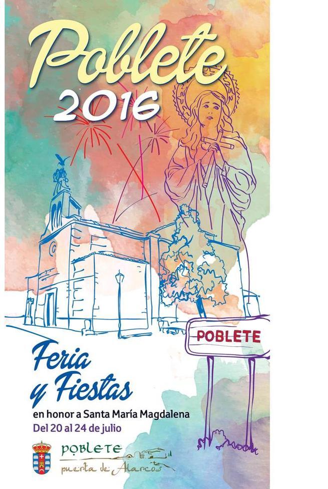 Imagen: Poblete celebra sus Fiestas patronales de Santa Mª Magdalena del 20 al 29 de julio