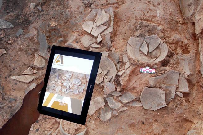 ArchAIDE, la App capaz de reconocer cerámica de yacimientos mediante una foto del móvil