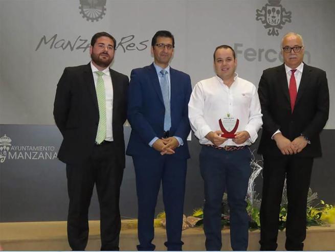 Imagen: La quesera daimieleña Ojos del Guadiana añade un premio mas en FERCAM a su exitosa trayectoria