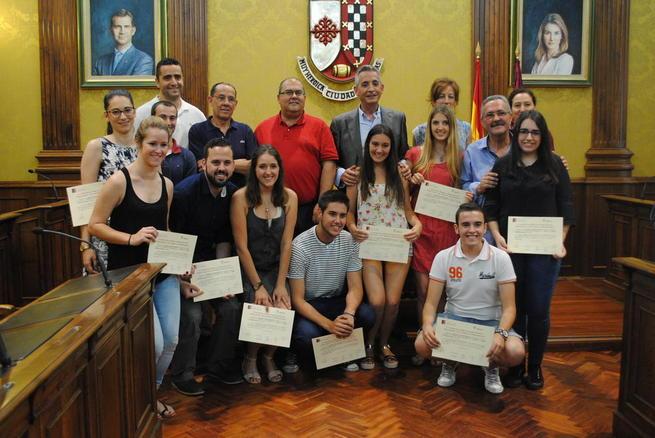 Imagen: Entregados los premios para los mejores proyectos empresariales de Valdepeñas