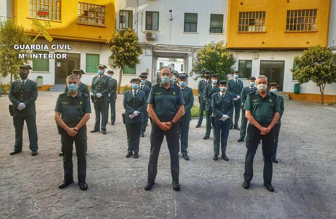 La Comandancia de Ciudad Real recibe a 16 Guardias Civiles en prácticas