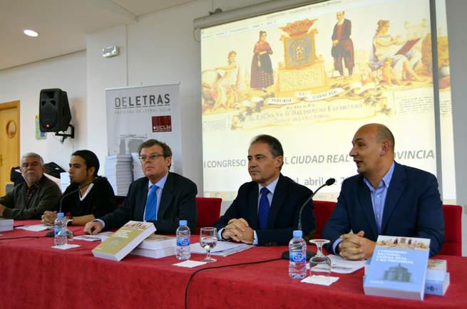 Imagen: El Instituto de Estudios Manchegos presenta en la UCLM las actas del I Congreso Nacional sobre Ciudad Real