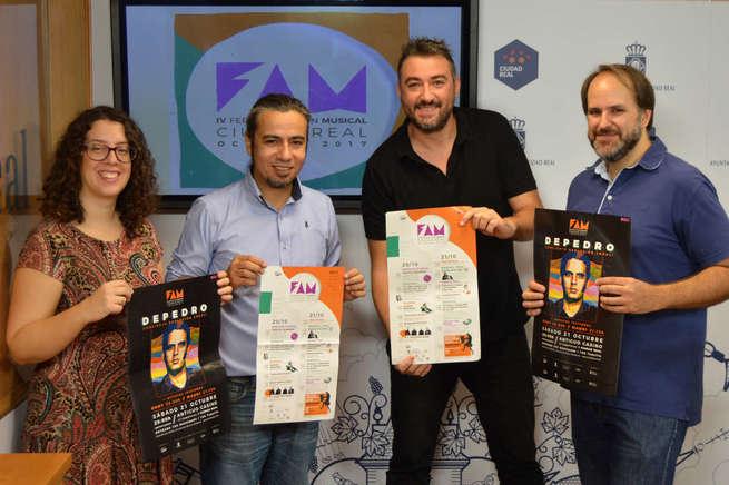 Ciudad Real se envuelve de música en la  IV Feria de Acción Musical el 20 y 21 de octubre