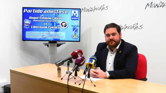 El partido entre el Ángel Ximenez-AVIA y el Liberbank Cuenca de ASOBAL se jugará en Manzanares