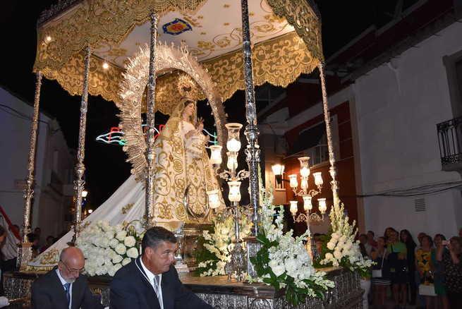 La Virgen de la Estrella procesionó en Miguelturra en su día grande