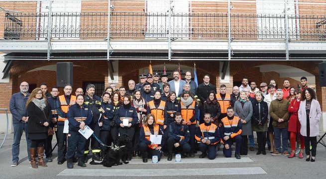 """El Ayuntamiento reconoce """"la labor desinteresada"""" del voluntariado de Protección Civil"""