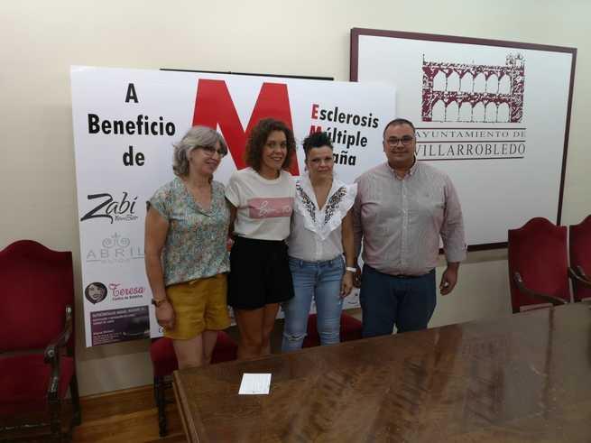 Presentado el Mercadillo solidario organizado por el colectivo de afectados de Esclerosis Múltiple de Villarrobledo