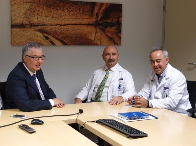 Imagen: La Gerencia del Área de Tomelloso y el Colegio de Enfermería acuerdan revitalizar la formación continua de los profesionales