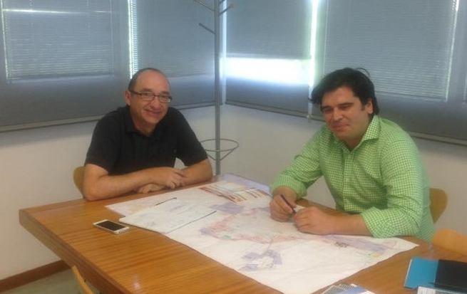 El ayuntamiento de Bolaños se reune con la Escuela de Ingenieros de Caminos para colaborar  en materia de urbanismo  e infraestructuras