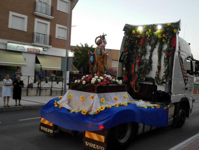 Imagen: Villacañas ha festejado San Cristóbal por todo lo alto