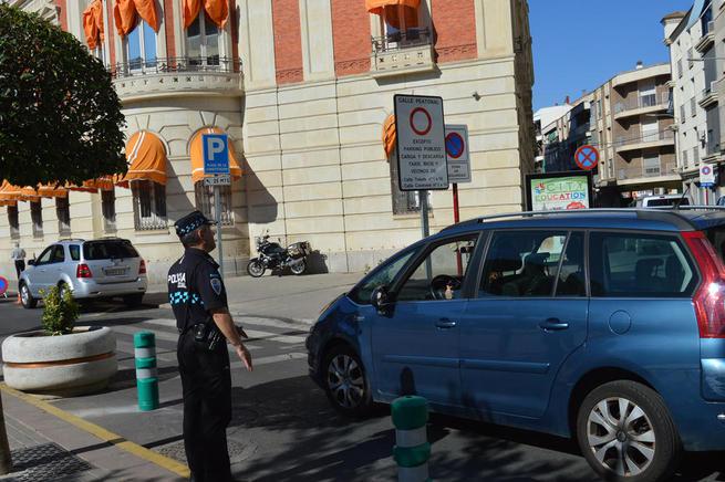 Imagen: Semipeatonalizado el primer tramo de la calle Toledo como experiencia piloto para peatonalizar el centro de Ciudad Real