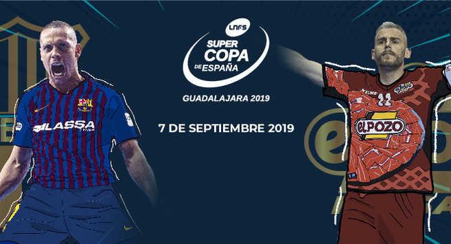 Guadalajara albergará la Supercopa de España 2019