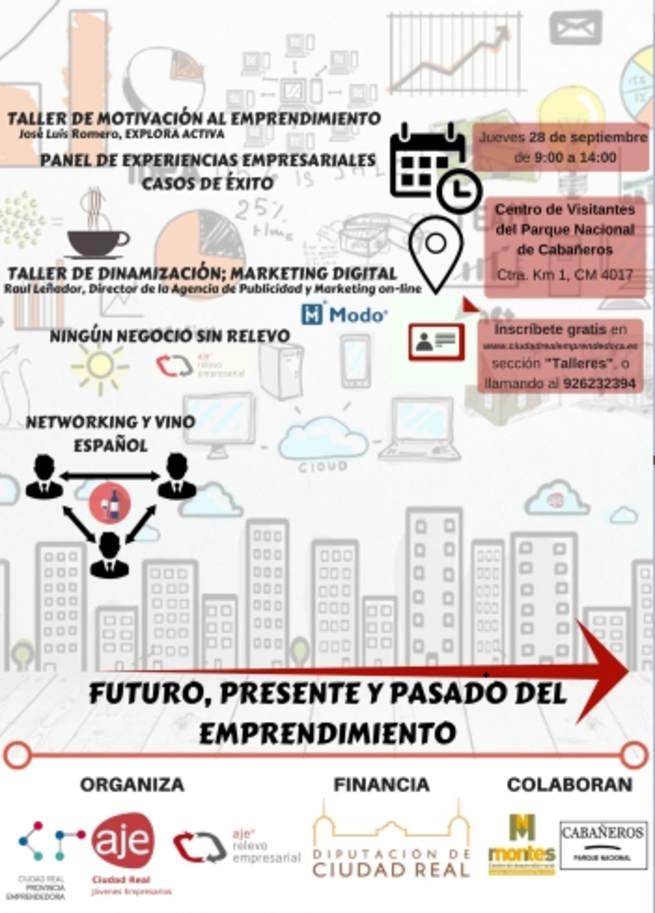 Ochenta inscritos en Horcajo para la jornada de emprendimiento que hará mañana AJE Ciudad Real