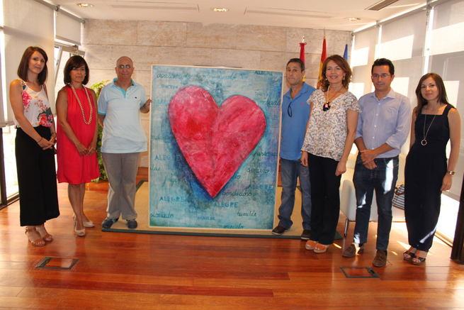 Castilla La Mancha apoya el proyecto de inclusión artística 'Valorarte' de Laborvalía que estará expuesto al público en Albacete en septiembre