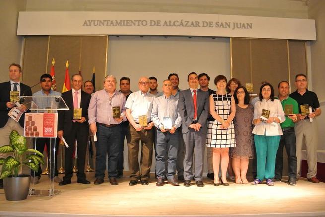 Imagen: El Gobierno regional valora el papel de mil consumidores que han premiado los mejores vinos de Castilla-La Mancha