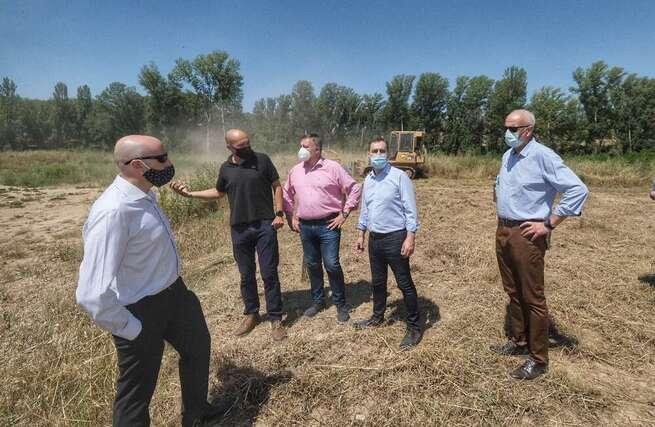 Ejecutada al 100% la obra hidráulica para evitar inundaciones en la confluencia de los ríos Moscas y Júcar, en Cuenca