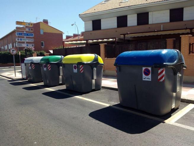 Imagen: La UTE Guadalajara sustituye los contenedores de carga lateral
