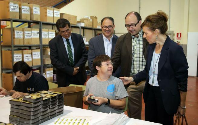 Imagen: Bienestar Social elogia el modelo de inserción laboral de la Asociación Down Toledo