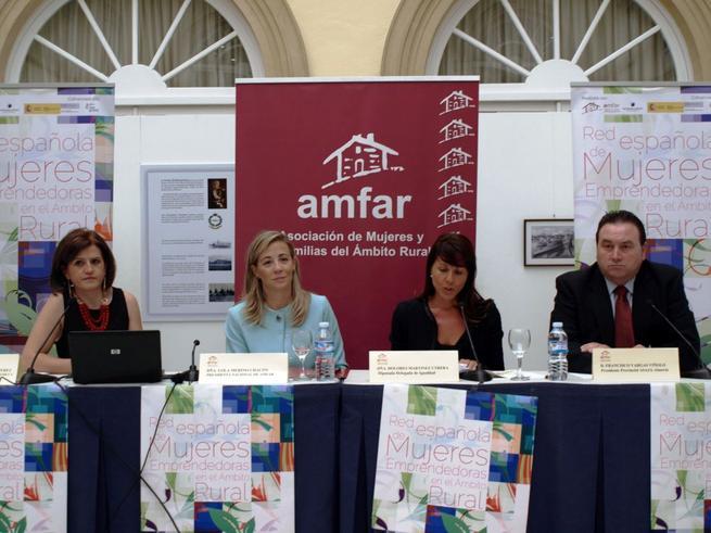 Imagen: La Red de Mujeres Emprendedoras de AMFAR asesora a 700 mujeres rurales