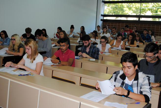 Imagen: Más de 1.500 alumnos comienzan hoy la PAEG en la Universidad de Castilla-La Mancha