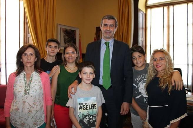Imagen: Firme colaboración de la Diputación de Toledo con Afanion
