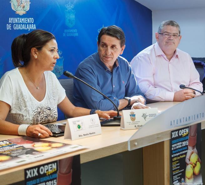 Imagen: Comienza la XIX edición del torneo de tenis 'Ciudad de Guadalajara'