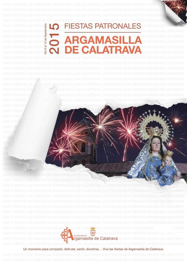 Imagen: En Argamasilla se preparan para las Fiestas de la Virgen del Socorro