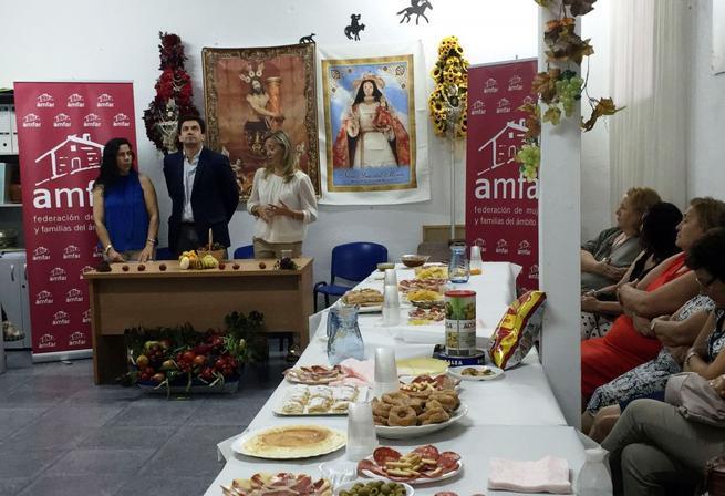Imagen: AMFAR Bolaños reúne a un centenar de mujeres con la vista puesta en la próxima edición del Día de la Cebolla