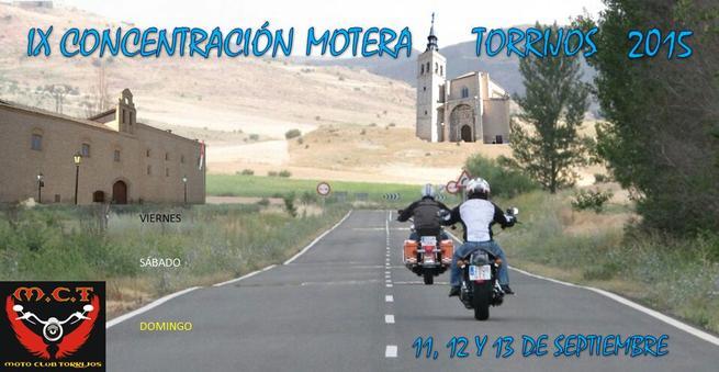 Imagen: Aficionados a las motos de toda España participan en la IX Concentración Motera de Torrijos