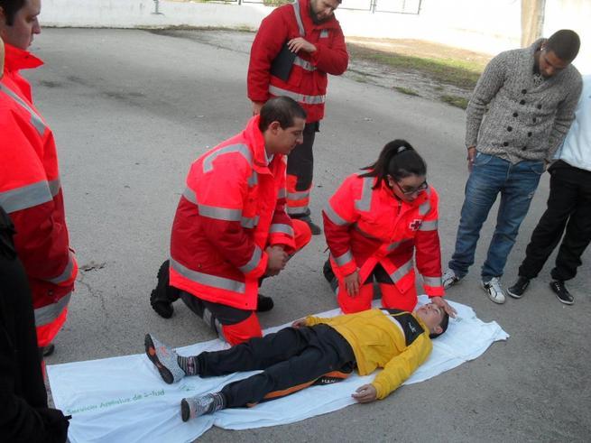 Imagen: Cruz Roja Ciudad Real formó a 519 personas, el año pasado, en primeros auxilios