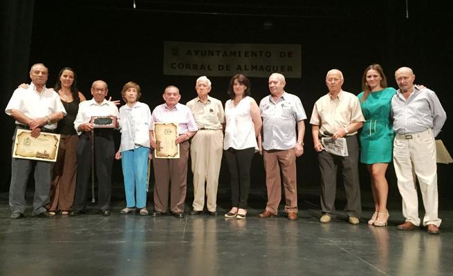 Imagen: Corral de Almaguer homenajeó a sus mayores en el Día del Abuelo