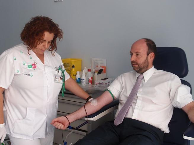 Imagen: Se va potenciar el programa de donación de sangre y plasma del Hospital de Ciudad Real