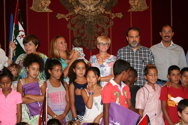 Imagen: 'Vacaciones en paz' para 27 niños saharaui en Toledo