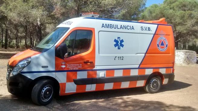 Imagen: Nueva ambulancia para Protección Civil en Puertollano
