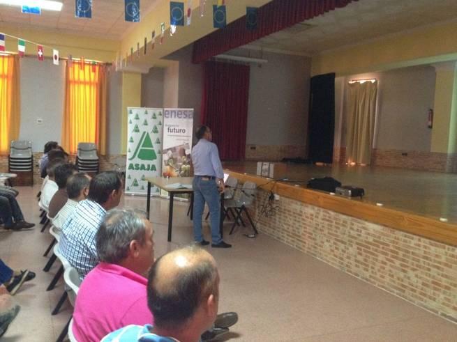 Imagen: ASAJA y ENESA apuestan por la contratación de seguros agropecuarios