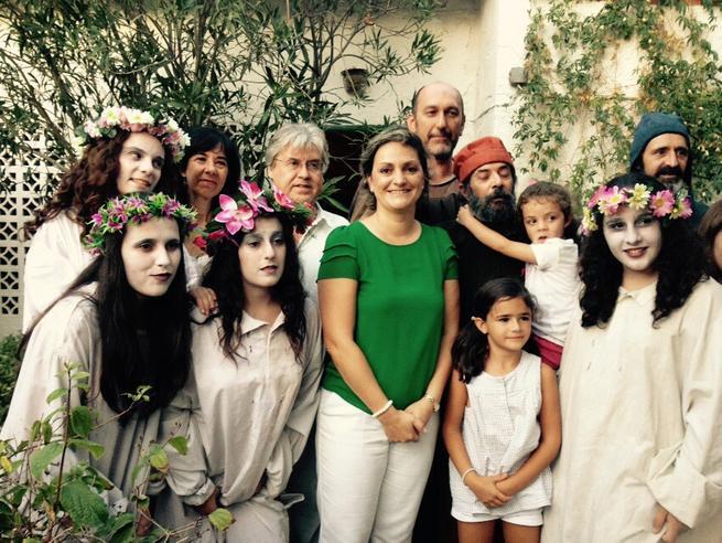 Imagen: Maria Angeles Garcia López asiste a las representaciones de la XVII del 'Festival Celestina'